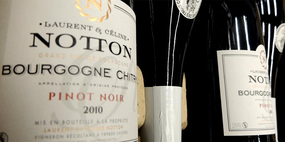 bouteilles domaine Notton
