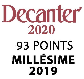 DECANTER 2020: Chablis vieilles Vignes 2019 - 93 points