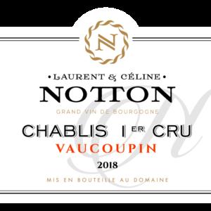 NOTTON CHABLIS VAUCOUPIN 18