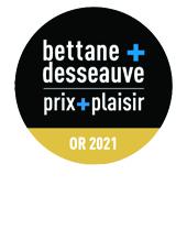 medaille d'or 2020 Bettane Desseauve