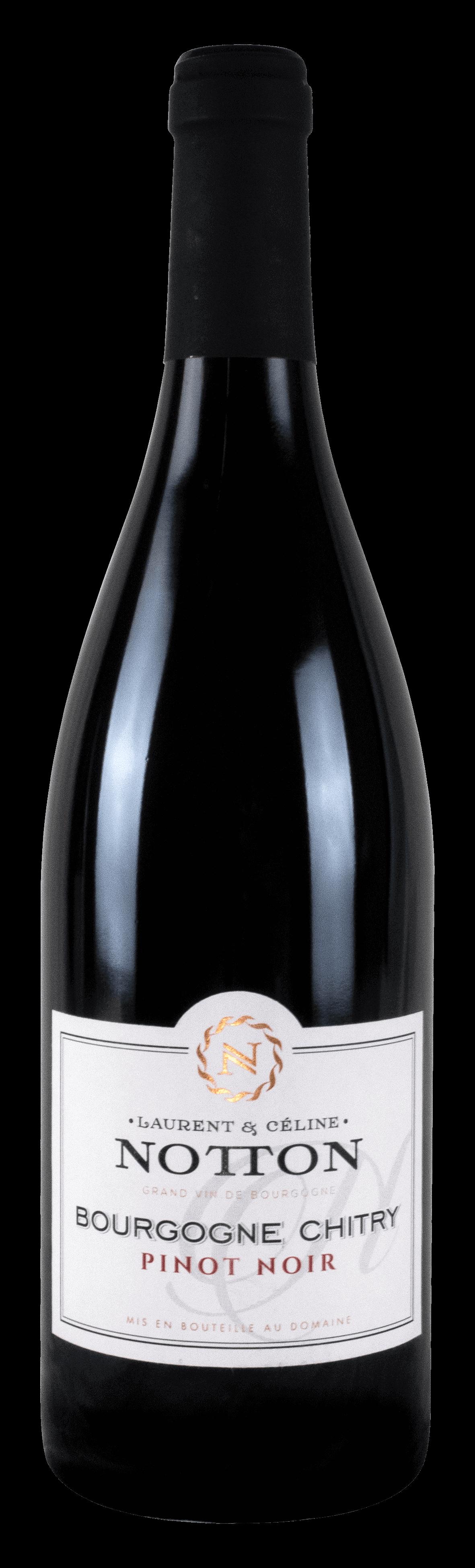 bouteille Domaine NOTTON Bourgogne Chitry Pinot Noir