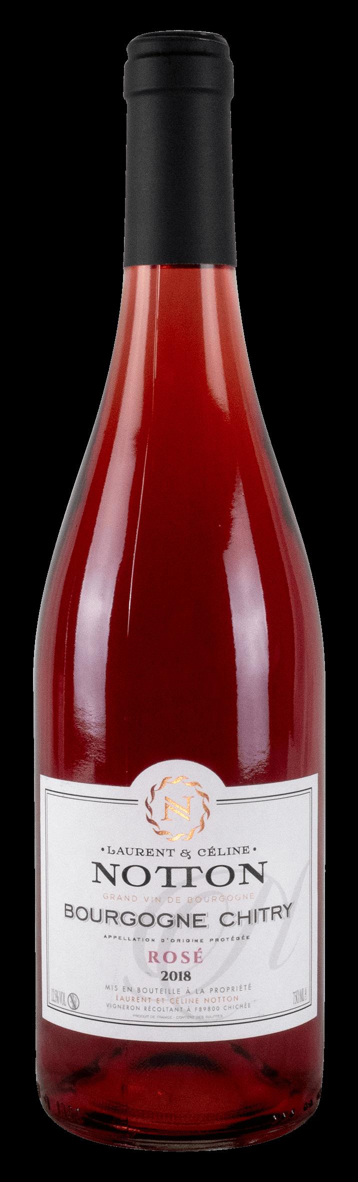 bouteille NOTTON Bourgogne Chitry Rose 2018