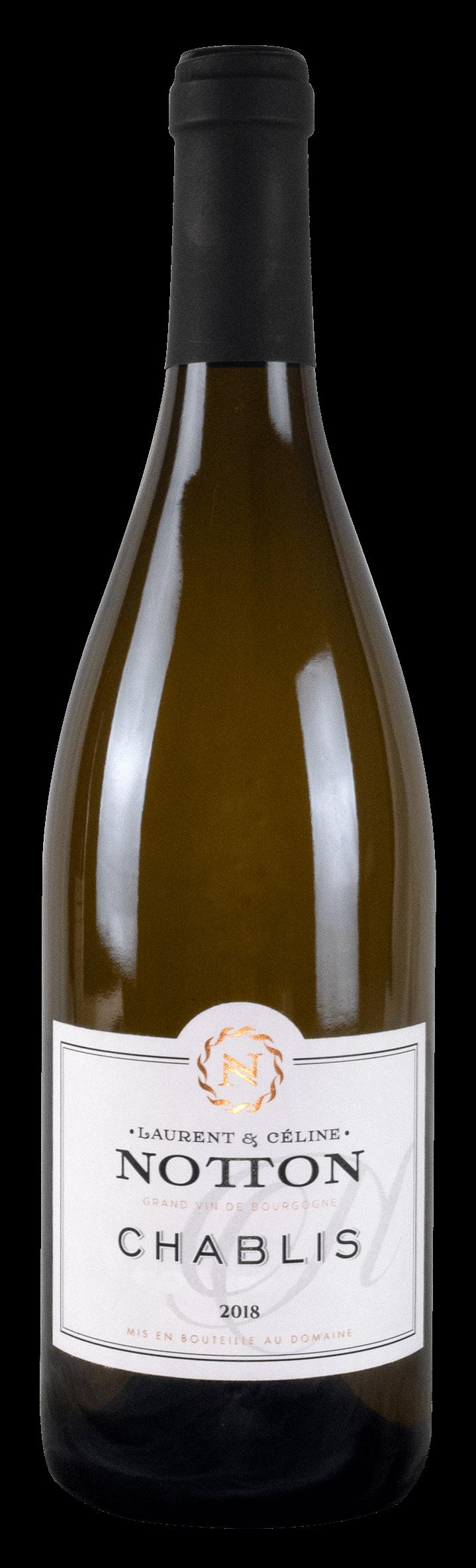 bouteille NOTTON Chablis 2018